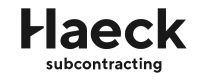 Haeck subcontracting | Spaans